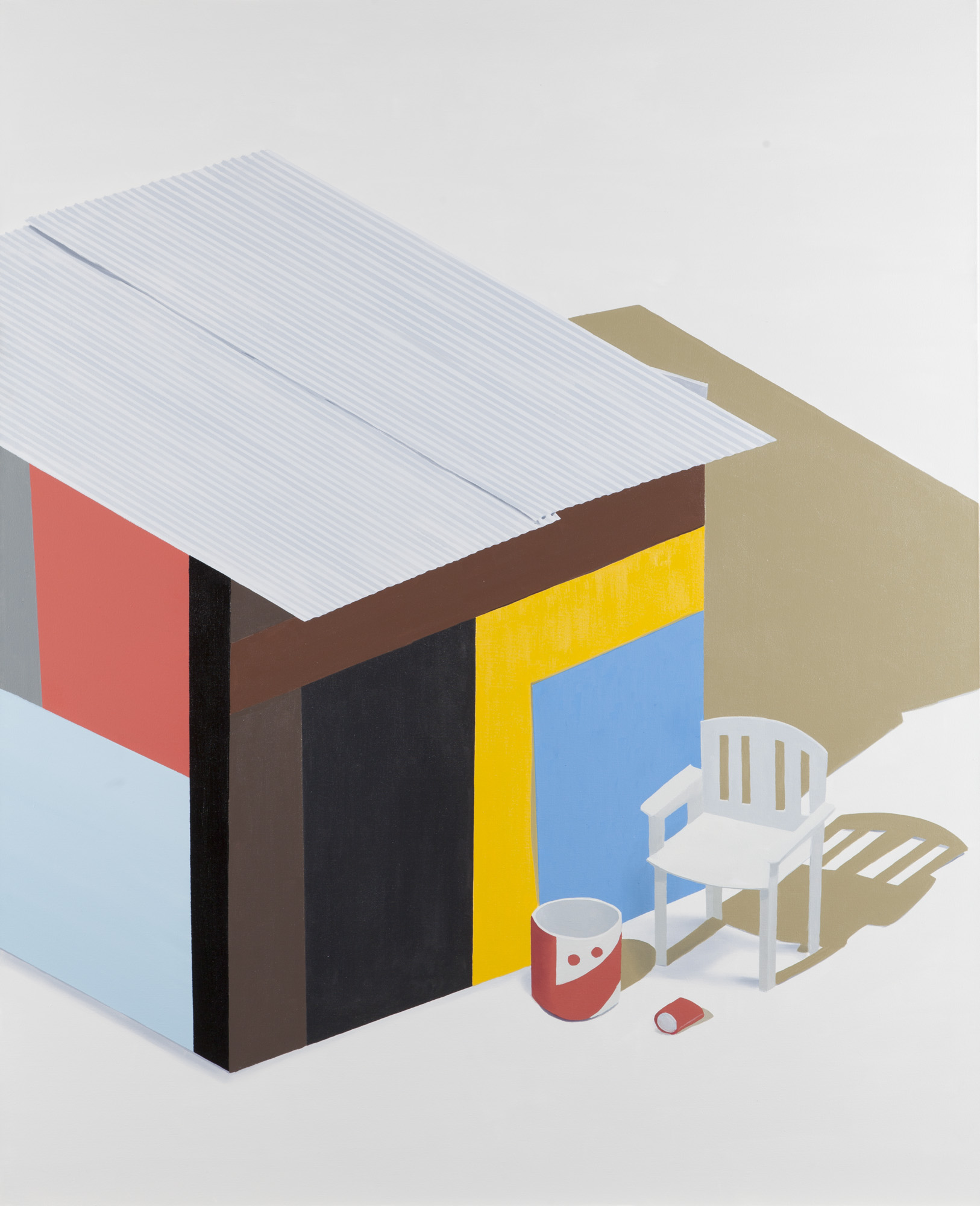 Hut - 2012 - oil on canvas - 160x130cm