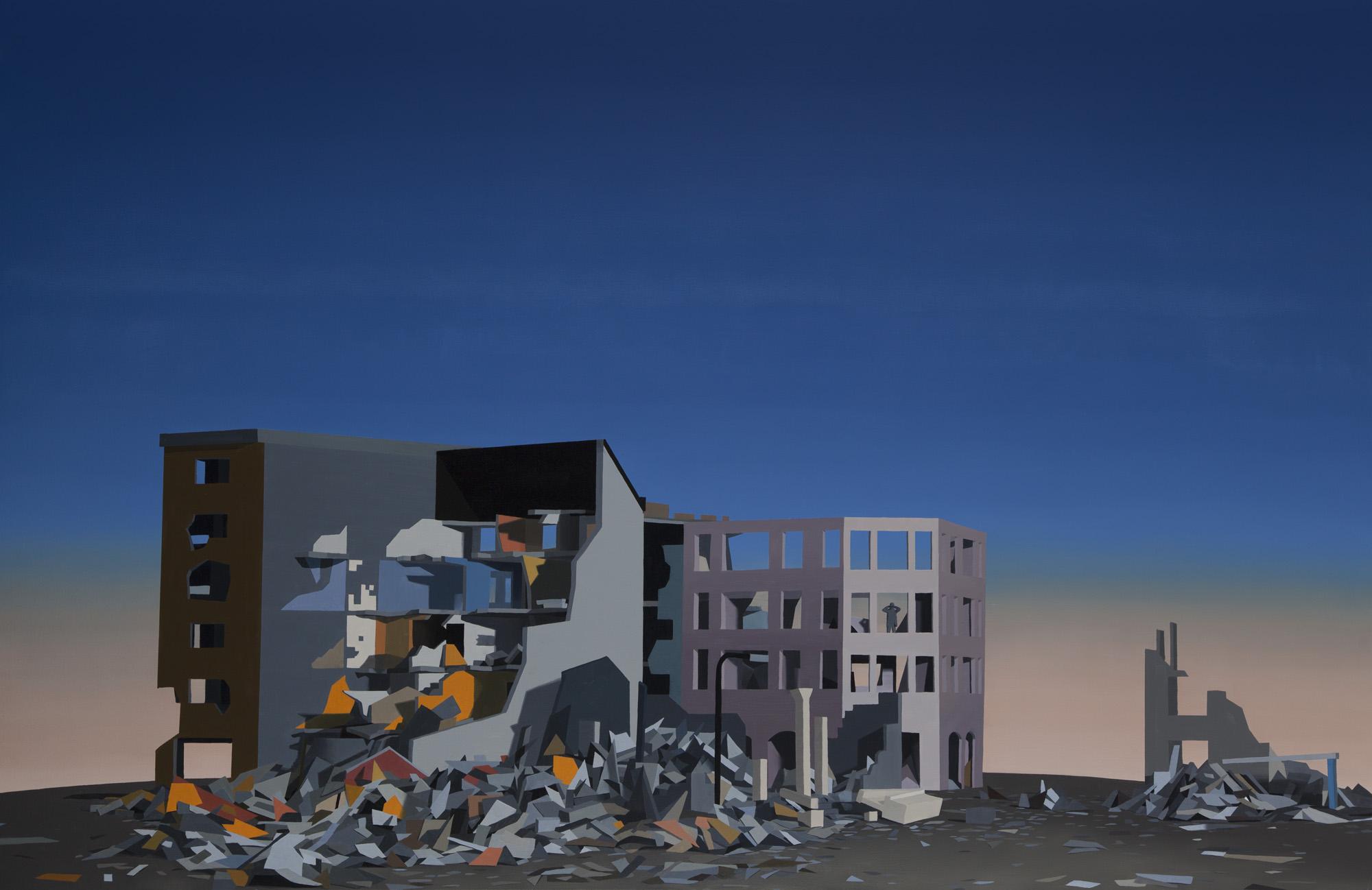 Fall - 2013 - oil on canvas - 160x250cm