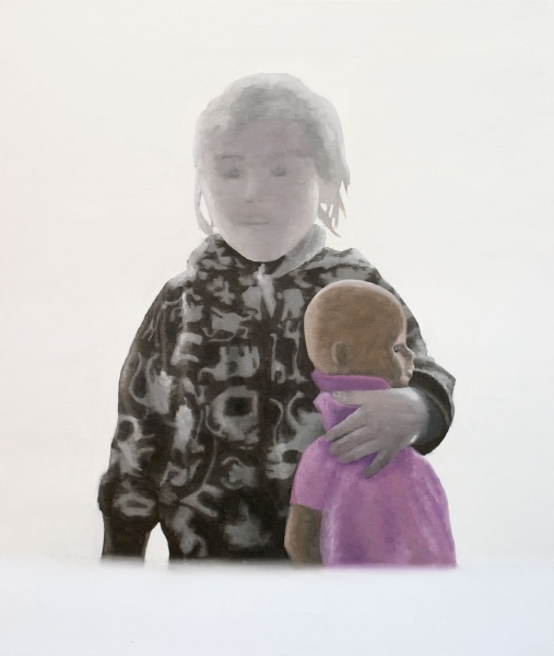 Never Let Me Go - 2009 - oil on canvas - 100x85cm